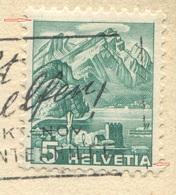 1929 - ABART Doppelprägung Auf Illustrierter Firmenkarte Der C.H.Boehringer Sohn A.-G., Nieder-Ingelheim A. Rh. - Abarten