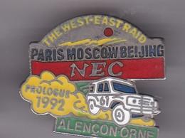 Pin's  RALLYE PARIS MOSCOU 1992 PROLOGUE ALENCON - Rallye