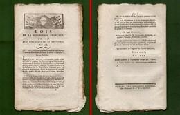 D-FR Révolution 1795 Traité De Paix Entre La République Française Et Le Roi D'Espagne - Documents Historiques