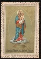 CHROMOLITHO NOTRE DAME DU SACRE COEUR - Devotion Images
