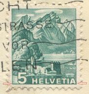 1932 - ABART Doppelprägung Auf Illustrierter Firmenkarte Der C.H.Boehringer Sohn A.-G., Nieder-Ingelheim A. Rh. - Abarten