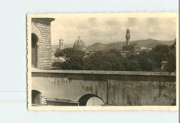 FLORENCE , FIRENZE -  1 Photo Ponte Vecchio Et  Panorama Dal Giardano Di Boboli + 2 CPA - Lire Descriptif  - 6 Scans - Firenze