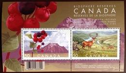 Canada 2005 Ireland Joint Issue Animals Flowers Minisheet MNH - Briefmarken