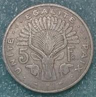 Djibouti 5 Francs, 1989 - Djibouti