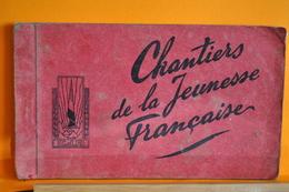 Chantiers De La Jeunesse Française- Chatel Guyon / Murat - Carnet 12 CPA - Guerre 1939-45