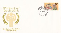 New Zealand 1979 International Year Of The Child FDC - FDC