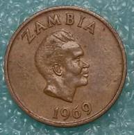 Zambia 1 Ngwee, 1969 - Zambie