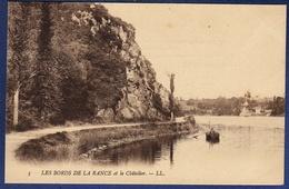 35 LE CHATELLIER Les Bords De La Rance Et Le Châtelier ; Canot - Animée - Le Châtellier