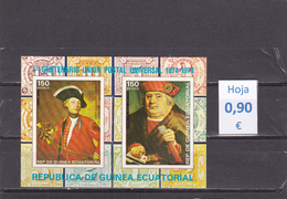 Guinea Ecuatorial  -  Hoja Bloque  (Arte Pintura)  -  7/7136 - Guinea Ecuatorial