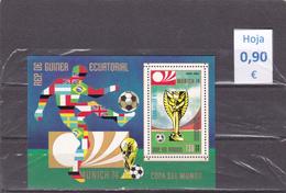 Guinea Ecuatorial  -  Hoja Bloque   (Deportes Olimpiadas - Olympics Sports)  -  7/7141 - Guinea Ecuatorial