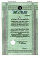 Toyo Shutter Co., Ltd. - Asie