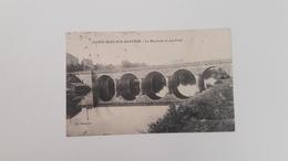 SAINT JEAN SUR MAYENNE (53) La Mayenne Et Son Pont - France
