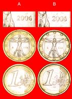 # VITRUVIAN MAN 1490: ITALY★ 1 EURO 2006 DISCOVERY COINS! LOW START ★ NO RESERVE! - Abarten Und Kuriositäten