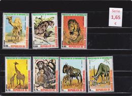 Guinea Ecuatorial  -  Hoja Bloque  (Fauna) -  7/7166 - Guinea Ecuatorial
