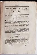 1810 Livret Minier, Environ 20 Pages.  Ref 0548 - Autographs
