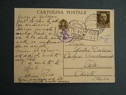 WW2 - ITALY OCCUPATION OF MONTENEGRO 1942- -PERASTO - CATTARO - TOOLO CHIETI- CENSURA - Montenegro