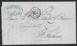 1850 LAC France Le Havre  A St. Petersburg, Russe - Academie Impériale Des Sciences - France
