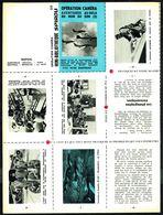 """Mini-récit N° 225 - """" Opération Caméra - Av. Au-delà Du Mur Du Son 2 """" De Wim DANNAU - Supplément  à Spirou - Non Monté. - Spirou Magazine"""