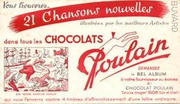 Buvard Vloeipapier - Chocolats Poulain - Blois - Chocolat