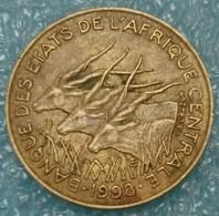 Central Africa (BEAC) 10 Francs, 1998 -0785 - República Centroafricana