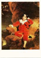 RUSSIA - RUSSIE - RUSSLAND Thomas Lawrence Red Boy Portrait Of Charles William Of Lemothon - Famous Ladies