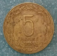 Central Africa (BEAC) 5 Francs, 1983 -1979 - Central African Republic