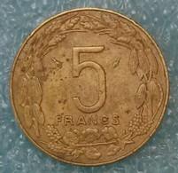 Central Africa (BEAC) 5 Francs, 1983 -1979 - República Centroafricana