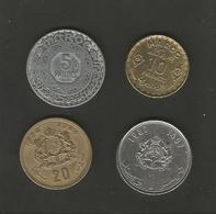 Lot De Monnaies Marocaines - Marruecos