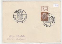 Reichskleingartnertag 1939 Wien Special Pmk On Postal Card B180702 - Cartas