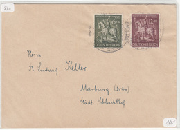 Letter Cover Travelled B180702 - Cartas