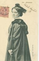 Arles 1906; Arlésienne, Costume - Voyagé. (Guende - Marseille) - Arles