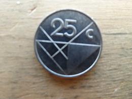 Aruba  25  Cents  2002  K M 3 - Antilles