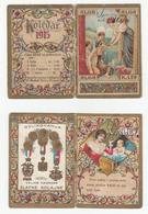 Small Calendar Calendrier 1915 Alga Company Fiume - Rijeka B180702 - Kalender