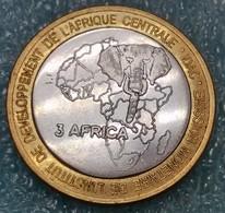 Congo Republic 4500 Francs, 2007   Pope John Paul II - Congo (Democratic Republic 1998)