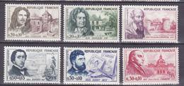 N 1257 à 1262 Célèbrités: Série EnTimbres Neuf Gomme  D'origine Sans Charnière. - France