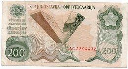 """JUGOSLAVIA-YUGOSLAVIA-2000000 DINARA 1989 P-100(""""Spomenik Issue"""" ) SERIE AC - Jugoslavia"""