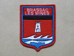 Ecusson à Coudre De Brassac-les-Mines (63) - Patches