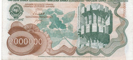 """JUGOSLAVIA-YUGOSLAVIA-200 DINARA 1990 P-102(""""Spomenik Issue"""" ) SERIE AC - Jugoslavia"""
