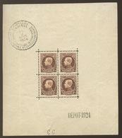 Bloc 1 Montenez Sans Colle Et Plié.  Cote 80,- € - Blocks & Kleinbögen 1924-1960