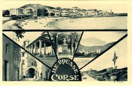 CORSE - L'ILE ROUSSE - Carte Multi-vues Montage A. Tomasi - 1934 - Otros Municipios
