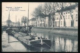 DENDERMONDE = LE CANAL ET LA RUE DU CHATEAU - Dendermonde
