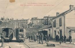 XF.338. St-Laurent-de-Cerdans - Arrivée Du Train - 1926 - Autres Communes