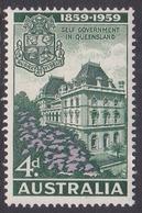 Australia ASC 354 1959 Centenary Self Government In Queensland, Mint Never Hinged - 1952-65 Elizabeth II : Ed. Pré-décimales