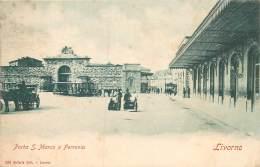 Livorno - Porta S. Marco E Ferrovia - Livorno