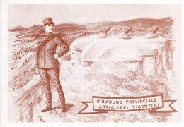 Passo Vezzena 1991- 3° Raduno Provinciale Artiglieri Vicentini - - Patriottiche