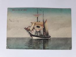 Italy - Barca A Vela Sull,Adria - Military Censor-Zensure K.u.K Trieste - Triest - Autres