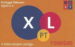 XL PT 1500 Prepaid Phonecard - Portugal - Portugal