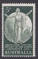 Australia ASC 374  1962 Country Women Association, Mint Never Hinged - 1952-65 Elizabeth II : Pre-Decimals