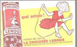 Buvard La Chicorée LEROUX Quel Entrain! Tésor De Santé La Chicorée LEROUX Véritable Super Chicorée - Coffee & Tea