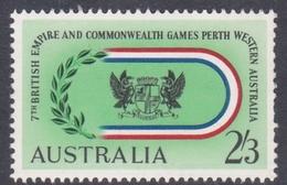 Australia ASC 377  1962 Perth Games 2sh And 3d Embleme, Mint Never Hinged - 1952-65 Elizabeth II : Pre-Decimals